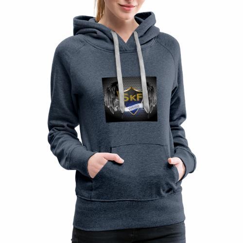 skyfal gaming white - Women's Premium Hoodie