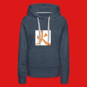 Fire till da end come and get it - Women's Premium Hoodie
