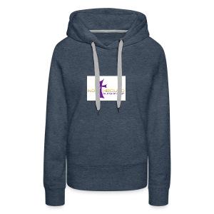 NB long logo - Women's Premium Hoodie