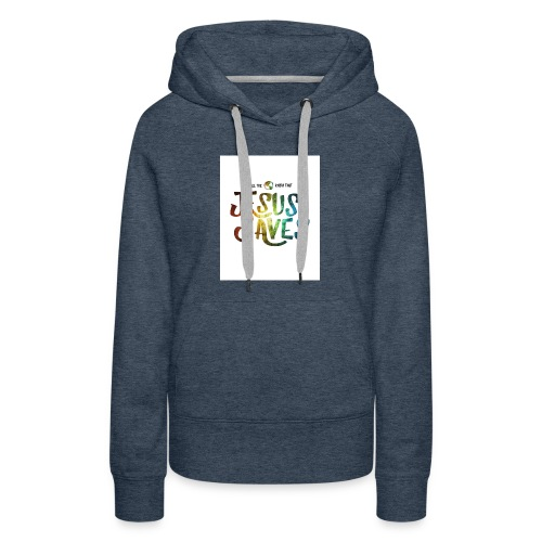 jesus saves by kevron2001 da12h2t - Women's Premium Hoodie