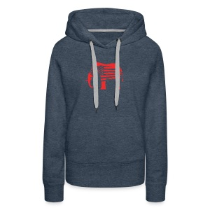 The Red Elephants Official Logo - Women's Premium Hoodie