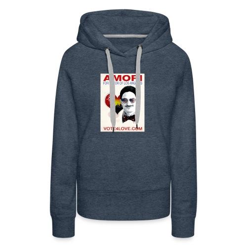 Amori for Mayor of Los Angeles eco friendly shirt - Women's Premium Hoodie