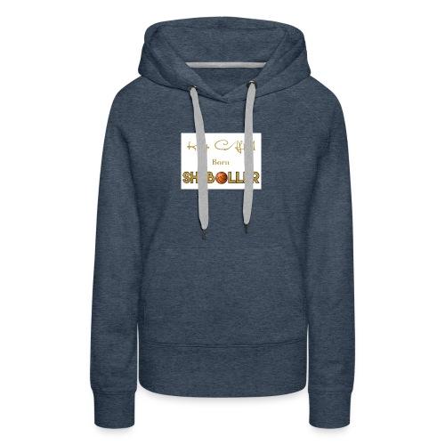 Girl Basketball shirt - Women's Premium Hoodie