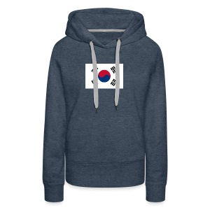 Flag of South Korea - Women's Premium Hoodie
