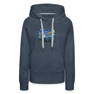 Starry Night Drone - Women's Premium Hoodie