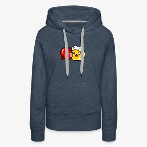 I love beer too much - Women's Premium Hoodie