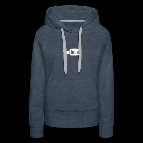 YouTube logo - Women's Premium Hoodie