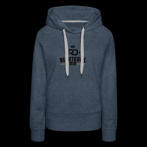 Righteous Dub Logo - Women's Premium Hoodie