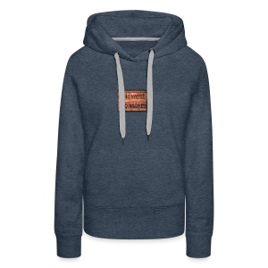 Midwest Monsters Wood Logo - Women's Premium Hoodie