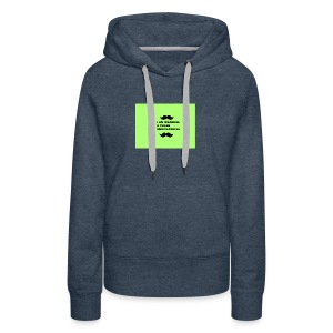 I Am Wearing A Caleb Merchandise - Women's Premium Hoodie
