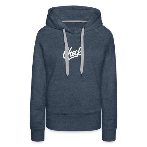 Check hoodie - Women's Premium Hoodie