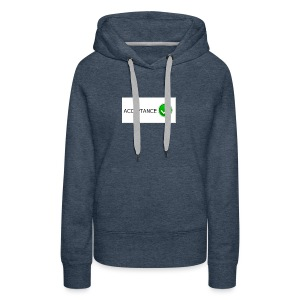 accpetnace_logo - Women's Premium Hoodie