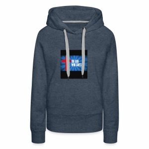 Because i am helping my church and my family - Women's Premium Hoodie
