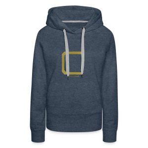 Cyberonic Limited Gold Apparel - Women's Premium Hoodie