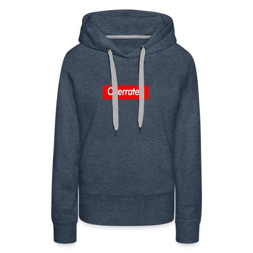 overrated - Women's Premium Hoodie
