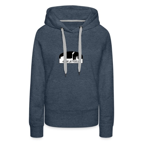 Unflatter Hashtag logo - Women's Premium Hoodie