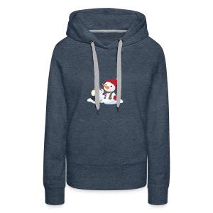 Penguin & Snowman Winter Friends - Women's Premium Hoodie