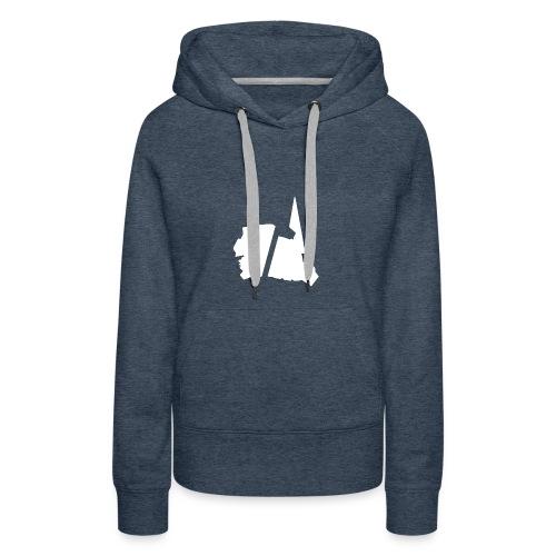 GBA_icon_white - Women's Premium Hoodie