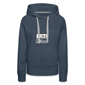gamister_shirt_design_1_back - Women's Premium Hoodie