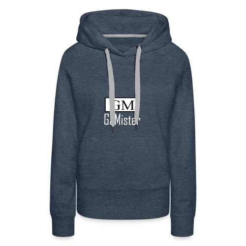 gamister_shirt_design_1_back - Women's Premium Hoodie
