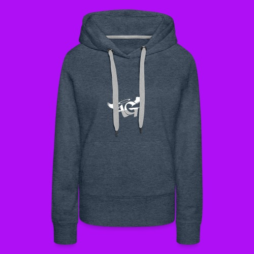 Almighty Gang Logo W/o Text - Women's Premium Hoodie