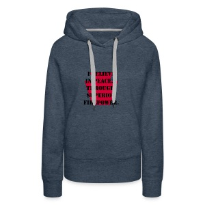 Peace 28th ID (Bloody Bucket) - Women's Premium Hoodie