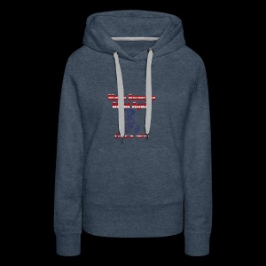 Make America Great...circa 1491 - Women's Premium Hoodie