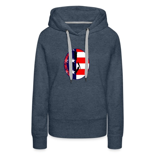 With America Since Day One - Women's Premium Hoodie