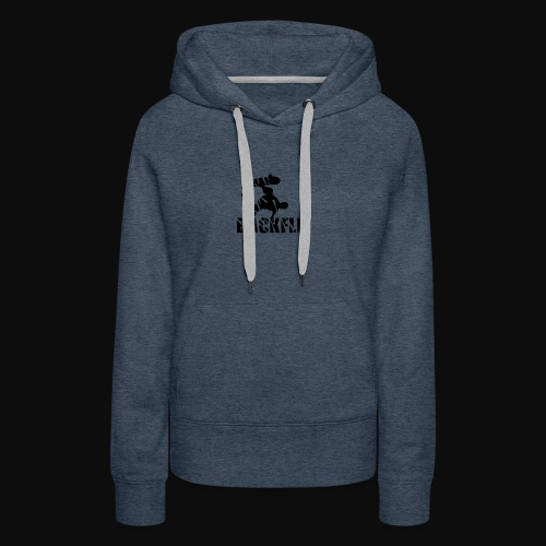 Back flip Skate Level - Women's Premium Hoodie