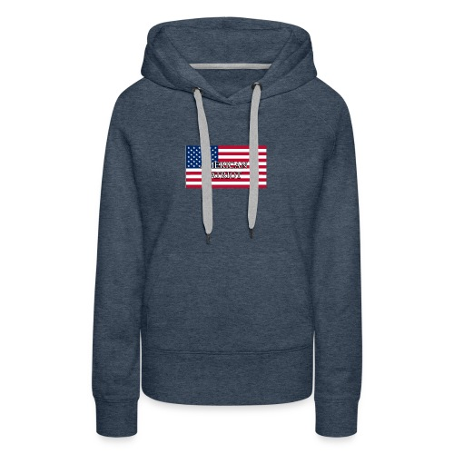 American Patriot - Women's Premium Hoodie