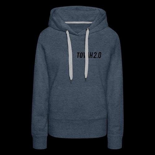 tovah 2.0 logo merch - Women's Premium Hoodie