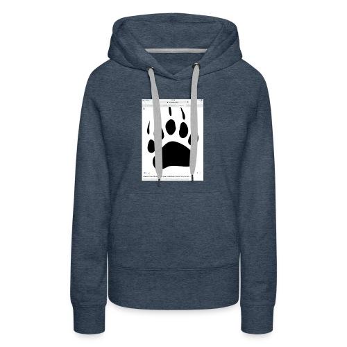 Bear print - Women's Premium Hoodie