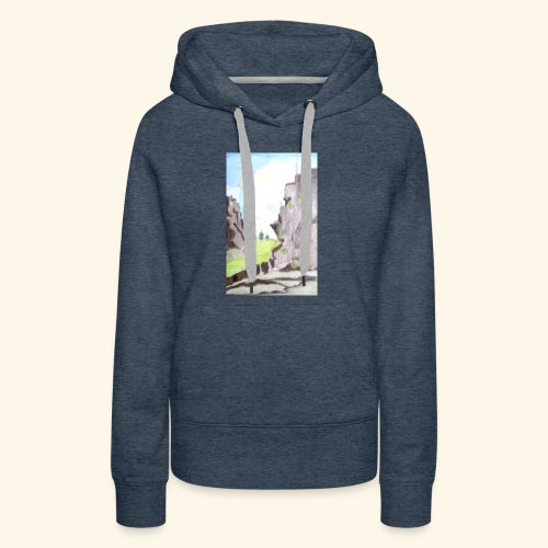 LANDSCAPE MULTI COLOUR - Women's Premium Hoodie