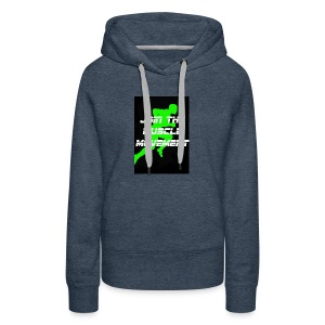 muscle movement - Women's Premium Hoodie