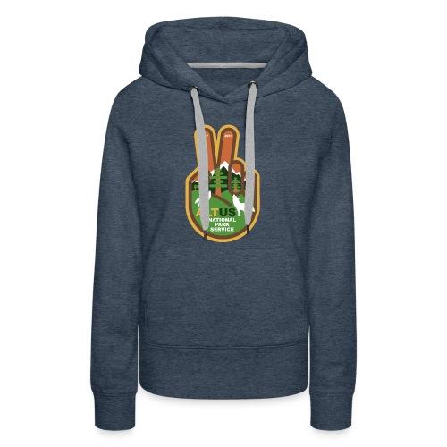 ALT US National Park Service - Peace - Women's Premium Hoodie