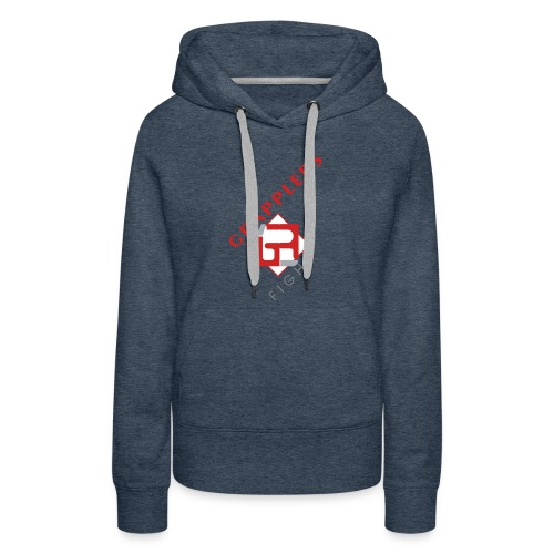 Dynamic 001 grapplersfight LOGO Front - Women's Premium Hoodie