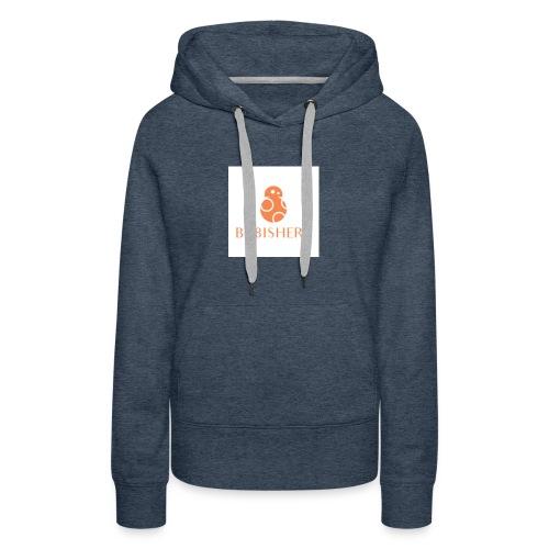 bb8ishere logo - Women's Premium Hoodie