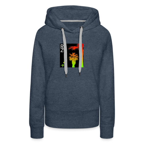 rbz south florida palm trees - Women's Premium Hoodie