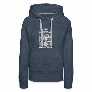 Real Madrid Design - Women's Premium Hoodie