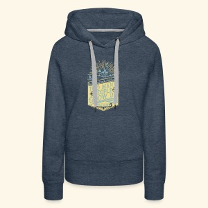 Too Many People Grow Up - Women's Premium Hoodie