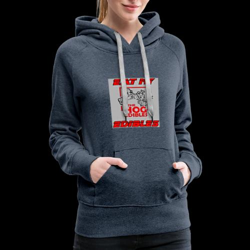 EME THE HOG EDIBLES - Women's Premium Hoodie