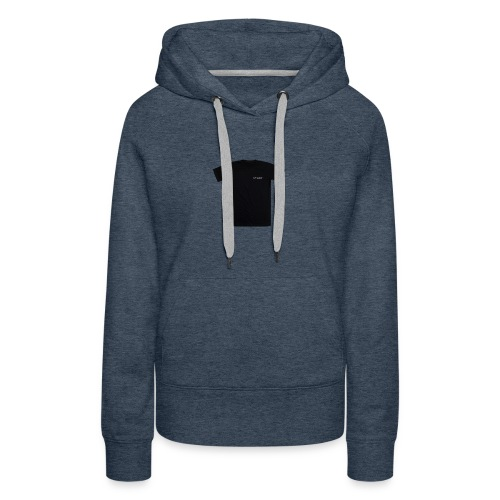 black spacex back 2 1 - Women's Premium Hoodie