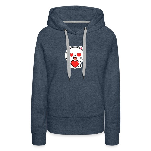 mayo the viber cat 2 by em120xd7ic33y - Women's Premium Hoodie