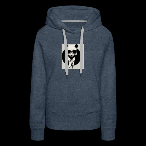 A dressed up panda - Women's Premium Hoodie