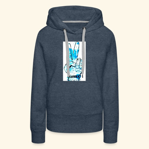 peace blues - Women's Premium Hoodie
