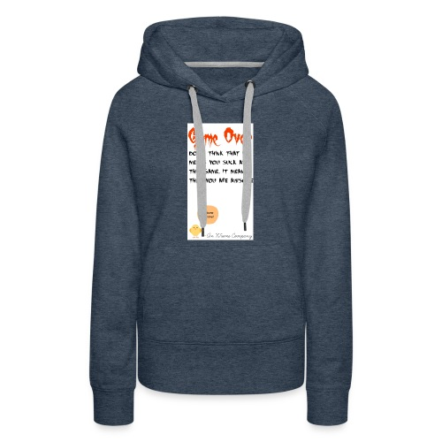 Game Over - Women's Premium Hoodie
