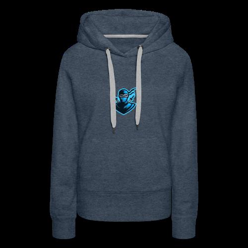 JKL Ninja logo - Women's Premium Hoodie