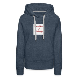 Reccklezz Exchange red - Women's Premium Hoodie