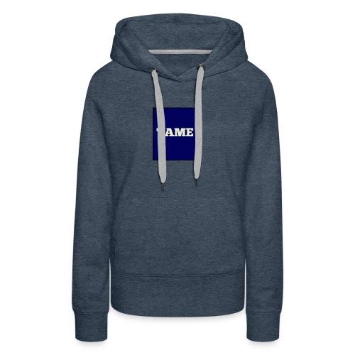 TAME Blue - Women's Premium Hoodie