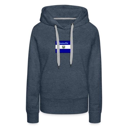 652fedbe86131b439e3b58ea82451d89 el salvador flag - Women's Premium Hoodie